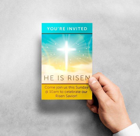 Church Invite Card
