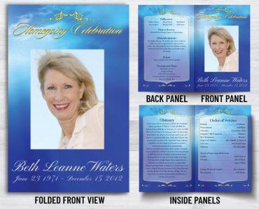 Funeral Program 1027