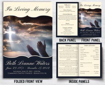 Funeral Program 1046