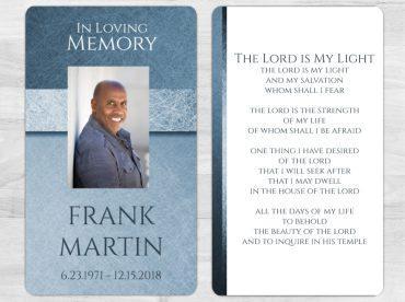 Memorial Prayer Card 1080