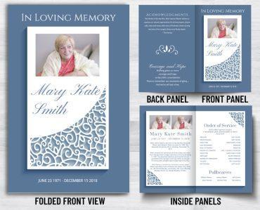 Funeral Program 1083
