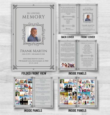 Funeral Memorial Program