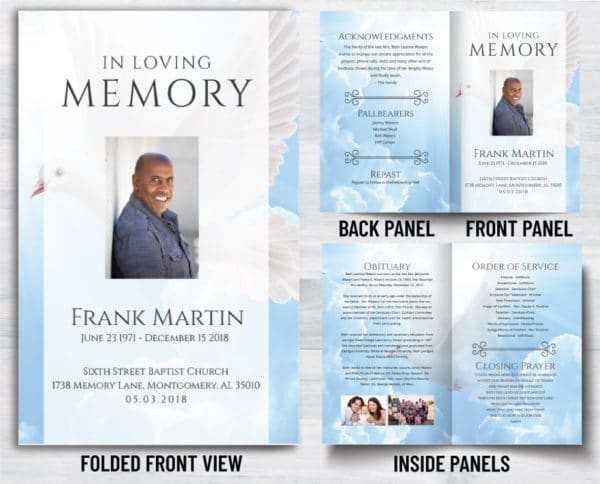 View Our Funeral Program Options