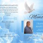 Funeral Program 1090