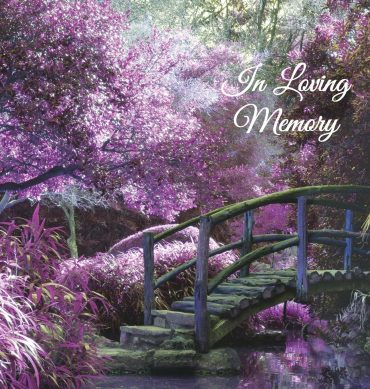 Funeral Program Guest Book 1002