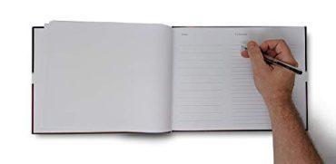 Funeral Program Guest Book 1009