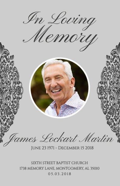 No Fold Memorial Funeral Program 1071