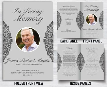 Funeral Program 1071