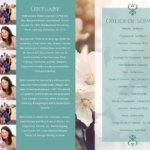 Funeral Program 1098