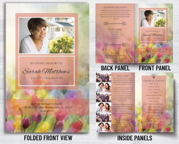 Custom Funeral Programs To Help You In This Hard Time