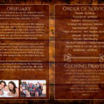 Funeral Program 2008