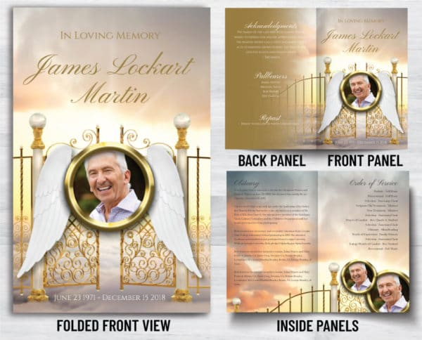 We Are Proud To Have Fast Funeral Printing For Our Funeral Programs