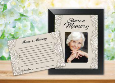 Funeral Program Share a Memory 1078