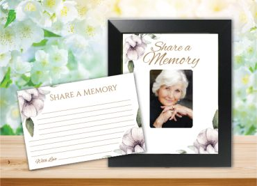 Funeral Program Share a Memory 1081