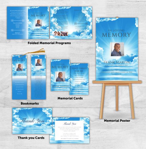 Funeral Program Combo Pack 1085