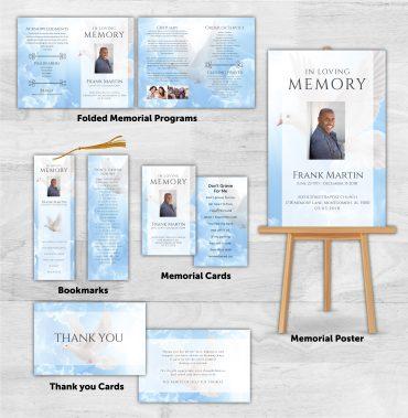 Funeral Program Combo Pack 1089