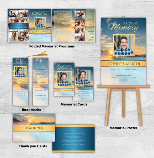 Funeral Program Combo Pack 1092