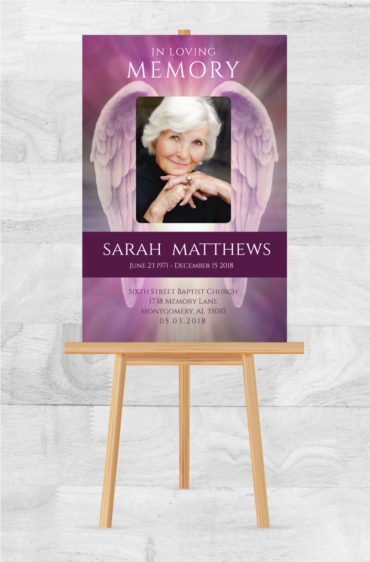 Funeral Program Poster 2006