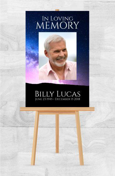 Funeral Program Poster 2009