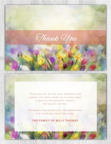 Thank You Card 1099