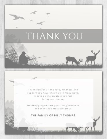 Thank You Card 2010