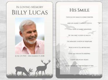 Memorial Prayer Card 2010