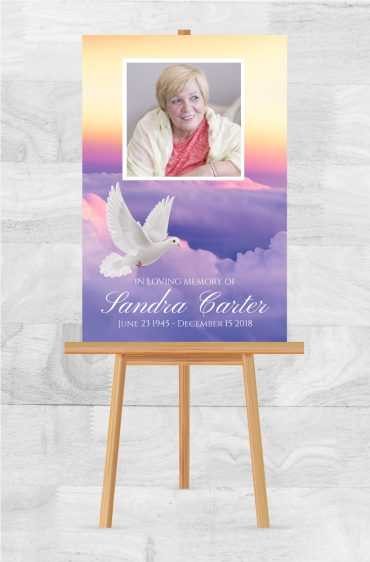 Funeral Memorial Poster 2012