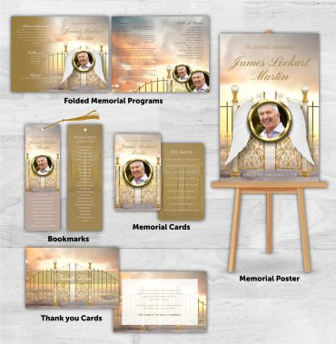 Funeral Program Combo Pack 2014