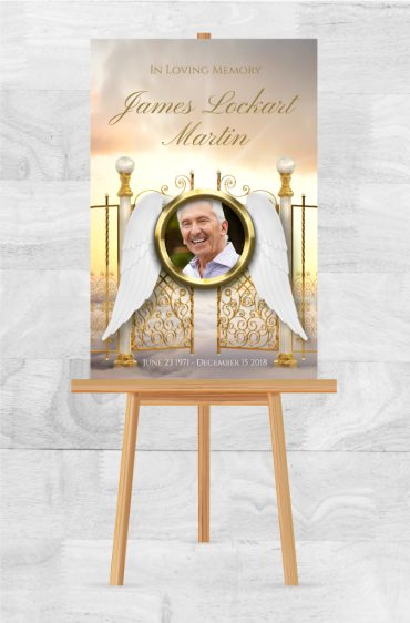Custom Memorial Service Poster Options