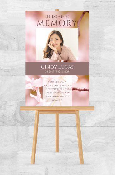 Funeral Memorial Poster 2017