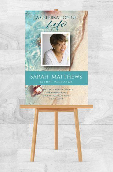 Funeral Memorial Poster 2035