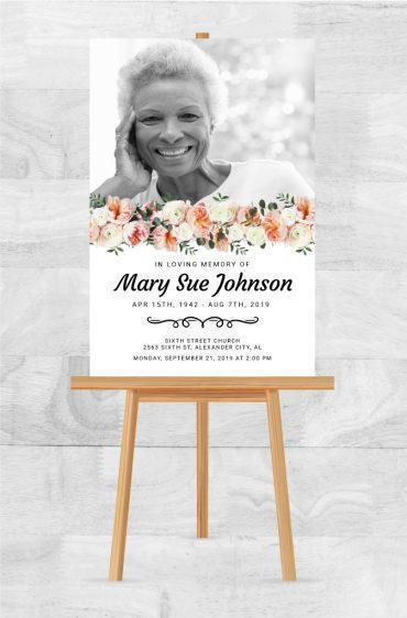 Funeral Memorial Poster 2036