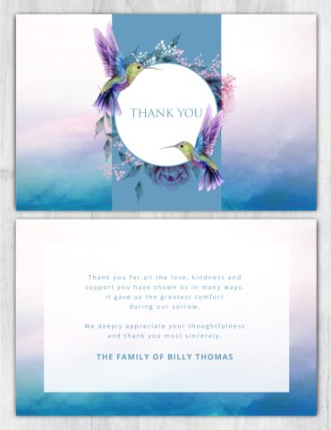 Thank you card 2050