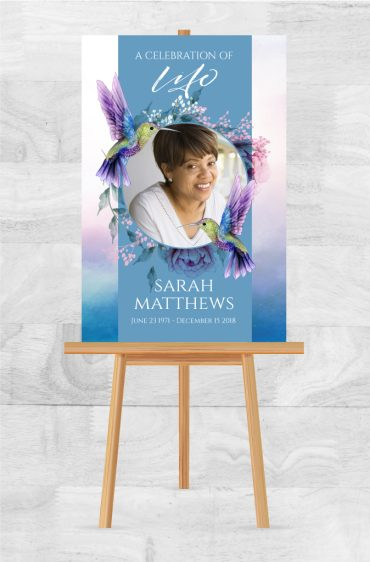 Memorial Service Posters To Celebrate A Loved One