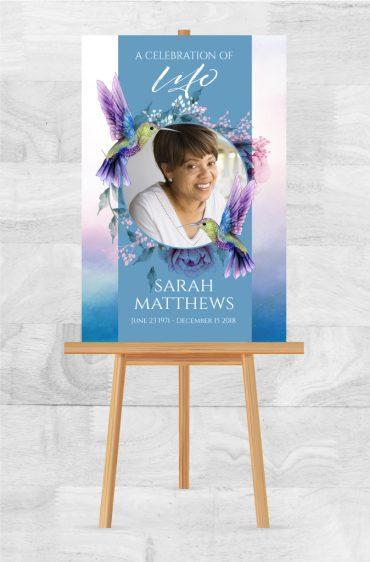 Funeral Memorial Poster 2050