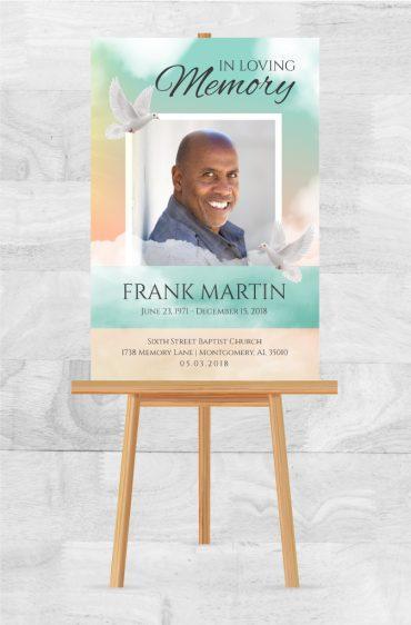 In Loving Memory Custom Funeral Posters