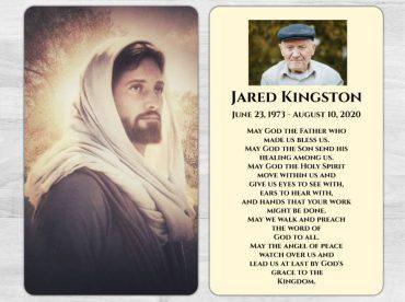 Memorial Prayer Card 1043