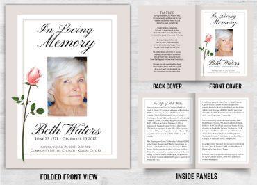 Memorial Prayer card 1061