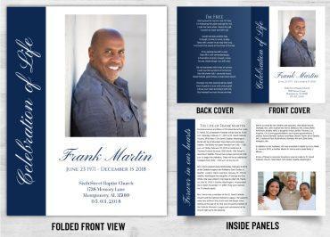 Memorial Prayer card 1072
