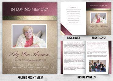 Memorial Prayer card 2079