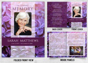 Memorial Prayer Card 1086