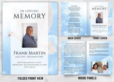 Memorial Prayer Card 1089