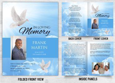 Memorial Prayer Card 1090