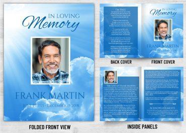 Memorial Prayer Card 1091