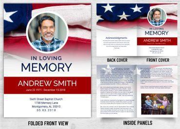 Memorial Prayer Card 1094