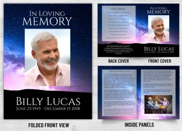 Memorial Prayer Card 2009