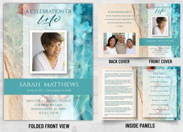 Memorial Prayer Card 2035