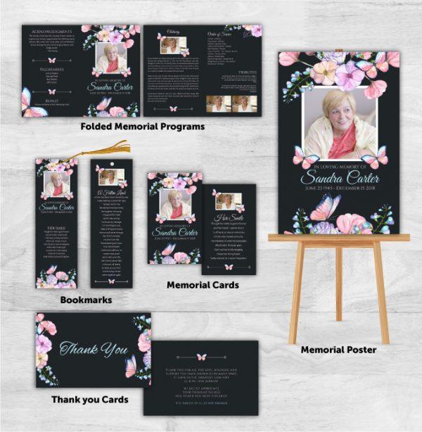 Funeral Program Combo Pack