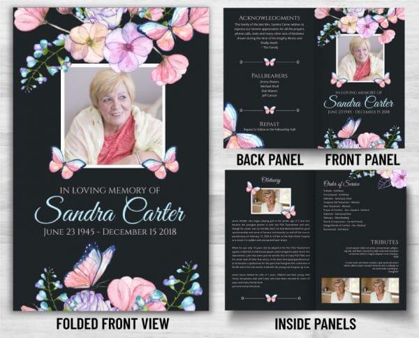 Custom Funeral Program Options