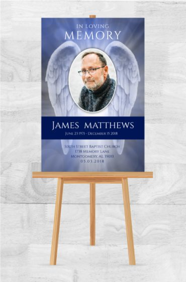 Custom Options For Memorial Posters For Funerals